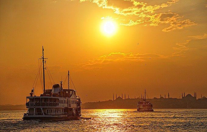 Bosphorus Sunset Cruise!